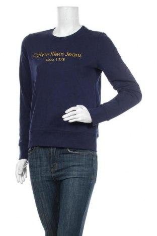 Γυναικεία μπλούζα Calvin Klein Jeans, Μέγεθος M, Χρώμα Μπλέ, 80% βαμβάκι, 20% πολυεστέρας, Τιμή 46,01€