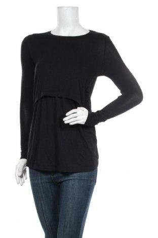 Дамска блуза Cotton On, Размер XS, Цвят Черен, 95% вискоза, 5% еластан, Цена 29,25лв.