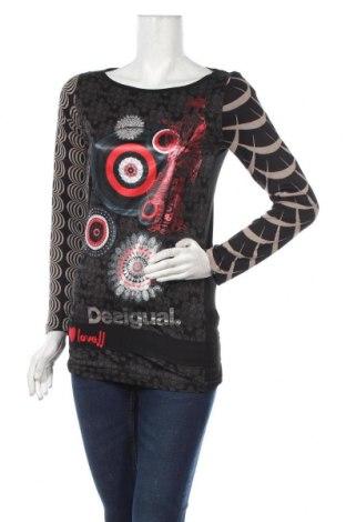 Γυναικεία μπλούζα Desigual, Μέγεθος S, Χρώμα Πολύχρωμο, 100% βισκόζη, Τιμή 34,41€