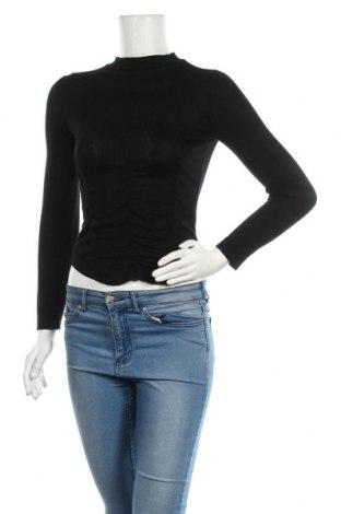 Дамска блуза Edited, Размер XS, Цвят Черен, Лиосел, Цена 44,25лв.