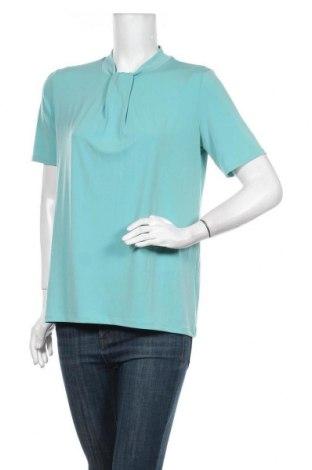 Дамска блуза Esprit, Размер L, Цвят Зелен, 96% полиестер, 4% еластан, Цена 34,50лв.