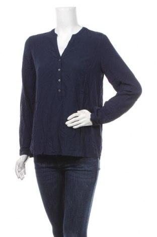 Дамска блуза Esprit, Размер S, Цвят Син, Вискоза, Цена 31,50лв.