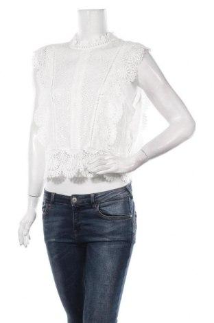 Дамска блуза Forever New, Размер L, Цвят Бял, Вискоза, Цена 31,50лв.