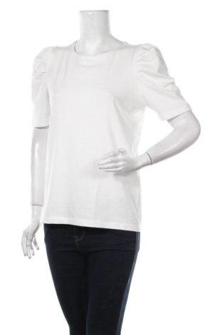 Дамска блуза Free Quent, Размер S, Цвят Бял, 95% памук, 5% еластан, Цена 27,00лв.