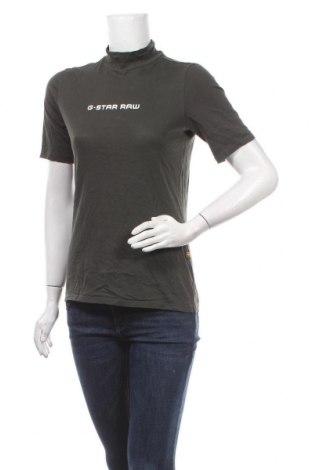 Дамска блуза G-Star Raw, Размер M, Цвят Зелен, Цена 54,00лв.