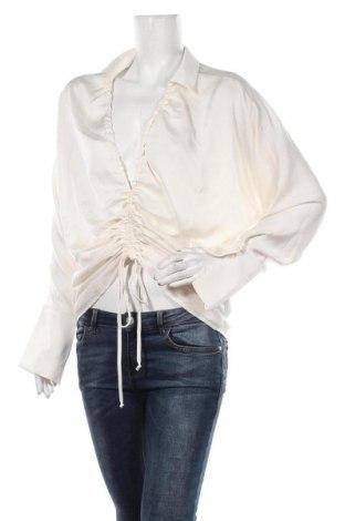 Bluză de femei Gina Tricot, Mărime L, Culoare Ecru, 100% poliester, Preț 120,89 Lei