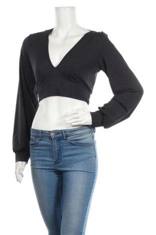 Дамска блуза Glamorous, Размер M, Цвят Син, 95% памук, 5% еластан, Цена 34,50лв.