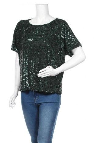 Γυναικεία μπλούζα H&M, Μέγεθος M, Χρώμα Πράσινο, 95% πολυεστέρας, 5% ελαστάνη, Τιμή 11,14€