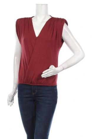 Дамска блуза NU-IN, Размер M, Цвят Червен, 95% вискоза, 5% еластан, Цена 36,00лв.