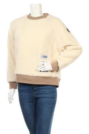 Дамска блуза Napapijri, Размер S, Цвят Бежов, 63% полиестер, 35% памук, 2% еластан, Цена 104,25лв.