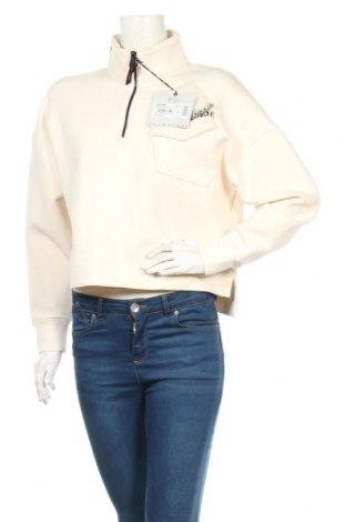 Дамска блуза Napapijri, Размер S, Цвят Екрю, 80% памук, 14% полиестер, 6% еластан, Цена 111,75лв.