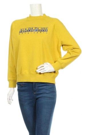 Дамска блуза Napapijri, Размер S, Цвят Зелен, 90% памук, 10% полиестер, Цена 111,75лв.