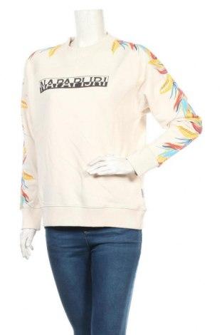 Дамска блуза Napapijri, Размер S, Цвят Бежов, Памук, Цена 111,75лв.