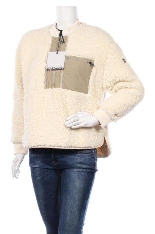 Дамска блуза Napapijri, Размер S, Цвят Екрю, Полиестер, Цена 104,25лв.