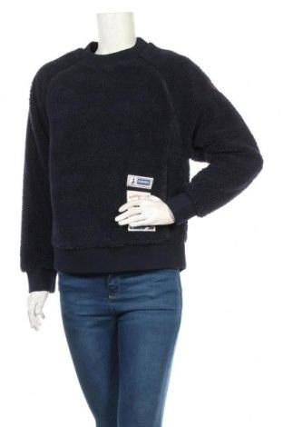 Дамска блуза Napapijri, Размер S, Цвят Син, Полиестер, Цена 111,75лв.