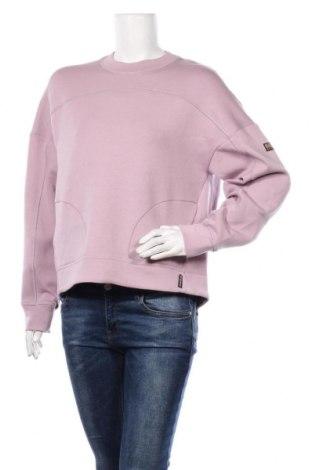 Дамска блуза Napapijri, Размер S, Цвят Лилав, 80% памук, 14% полиестер, 6% еластан, Цена 111,75лв.