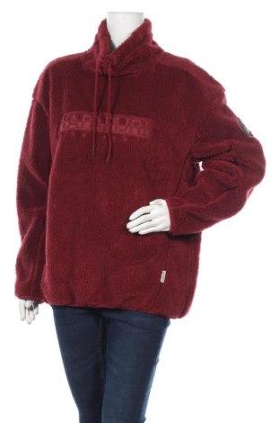 Γυναικεία μπλούζα Napapijri, Μέγεθος L, Χρώμα Κόκκινο, Πολυεστέρας, Τιμή 57,60€