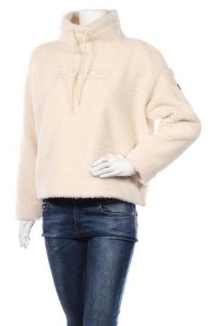 Дамска блуза Napapijri, Размер S, Цвят Екрю, Полиестер, Цена 119,25лв.