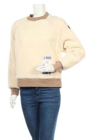 Дамска блуза Napapijri, Размер S, Цвят Бежов, Полиестер, Цена 111,75лв.