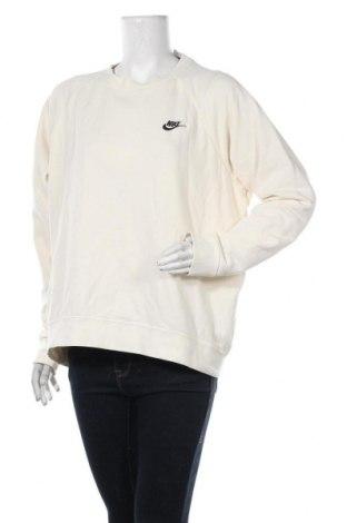 Дамска блуза Nike, Размер XL, Цвят Екрю, 80% памук, 20% полиестер, Цена 69,00лв.
