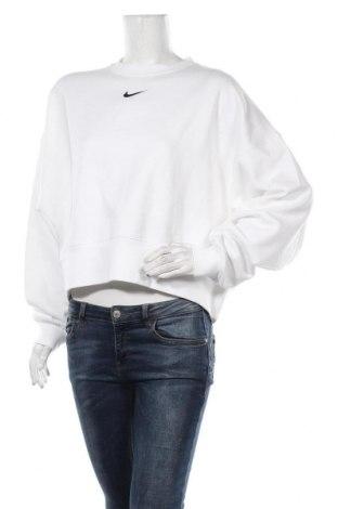 Γυναικεία μπλούζα Nike, Μέγεθος S, Χρώμα Λευκό, 80% βαμβάκι, 20% πολυεστέρας, Τιμή 38,27€