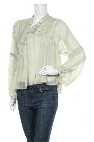Bluză de femei ONLY, Mărime M, Culoare Verde, Poliester, Preț 15,10 Lei