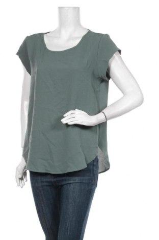 Дамска блуза ONLY, Размер M, Цвят Зелен, 97% полиестер, 3% еластан, Цена 29,25лв.