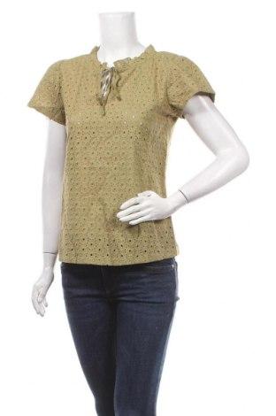Дамска блуза Orsay, Размер M, Цвят Зелен, Памук, Цена 40,50лв.