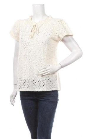 Γυναικεία μπλούζα Orsay, Μέγεθος L, Χρώμα Εκρού, Βαμβάκι, Τιμή 16,70€