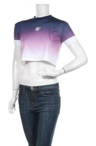 Дамска блуза SikSilk, Размер XS, Цвят Многоцветен, 90% полиестер, 10% еластан, Цена 25,20лв.
