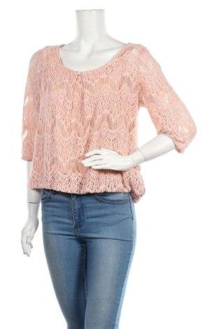 Дамска блуза Soaked In Luxury, Размер M, Цвят Розов, 45% полиамид, 35% памук, 20% вискоза, Цена 55,30лв.