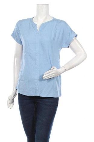 Дамска блуза Soya Concept, Размер XS, Цвят Син, Вискоза, Цена 31,50лв.