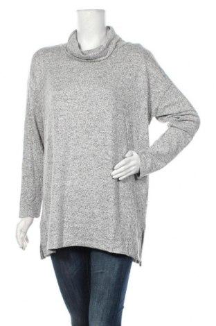 Дамска блуза Tom Tailor, Размер XL, Цвят Сив, 80% вискоза, 17% полиестер, Цена 29,40лв.