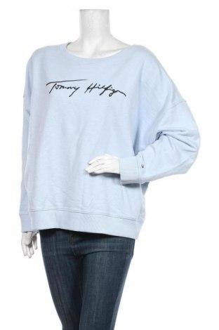 Дамска блуза Tommy Hilfiger, Размер XL, Цвят Син, Памук, Цена 81,75лв.