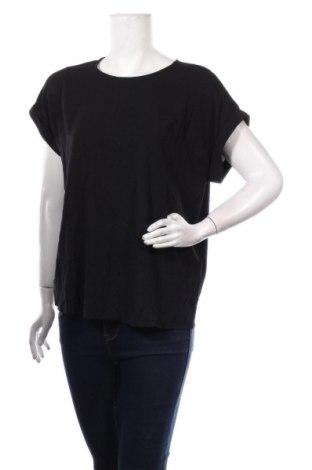 Дамска блуза Vero Moda, Размер M, Цвят Черен, 97% вискоза, 3% еластан, Цена 34,50лв.