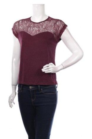 Дамска блуза Vero Moda, Размер XS, Цвят Червен, Полиамид, Цена 34,50лв.