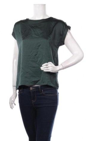 Дамска блуза Vila, Размер S, Цвят Зелен, Полиестер, Цена 34,50лв.