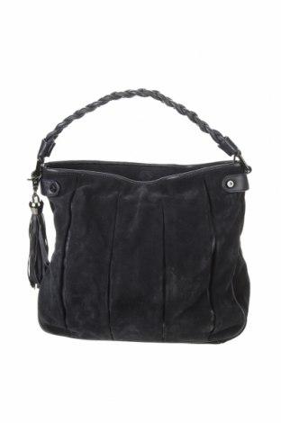 Γυναικεία τσάντα Coccinelle, Χρώμα Μπλέ, Φυσικό σουέτ, γνήσιο δέρμα, Τιμή 113,20€