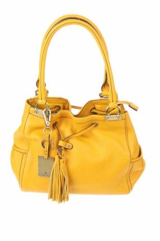 Γυναικεία τσάντα Etienne Aigner, Χρώμα Κίτρινο, Γνήσιο δέρμα, Τιμή 104,84€
