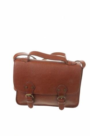Γυναικεία τσάντα H&M Divided, Χρώμα Καφέ, Δερματίνη, Τιμή 13,46€