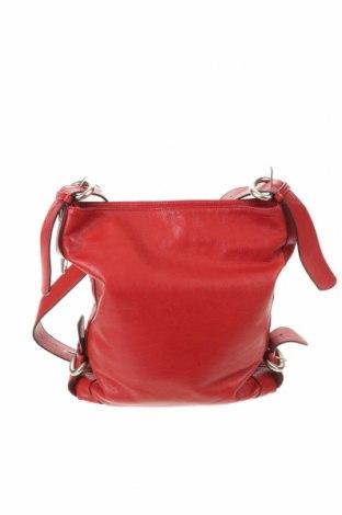 Geantă de femei Lupo, Culoare Roșu, Piele naturală, Preț 572,37 Lei