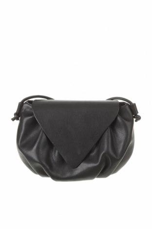 Γυναικεία τσάντα Mango, Χρώμα Μαύρο, Δερματίνη, Τιμή 14,84€