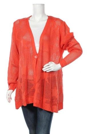 Дамска жилетка, Размер XL, Цвят Оранжев, Цена 25,20лв.