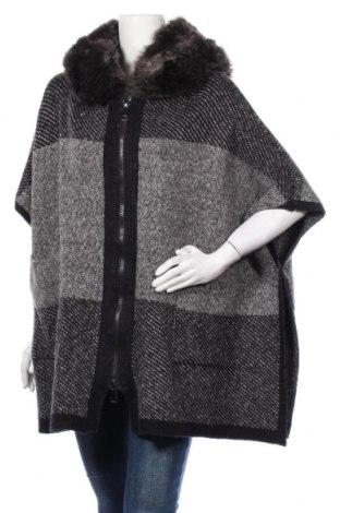 Дамска жилетка Zara Knitwear, Размер M, Цвят Сив, 86% акрил, 14% полиестер, 1% еластан, Цена 47,25лв.