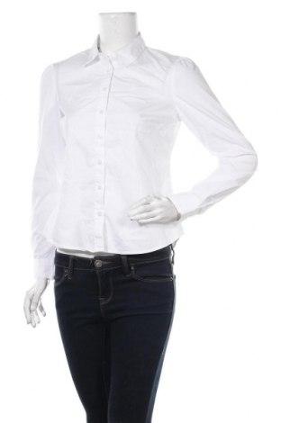 Dámská košile  Marks & Spencer, Velikost S, Barva Bílá, 73% bavlna, 23% polyester, 4% elastan, Cena  467,00Kč