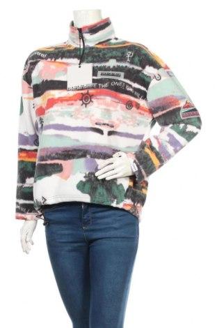 Дамска поларена блуза Napapijri, Размер S, Цвят Многоцветен, Полиестер, Цена 111,75лв.