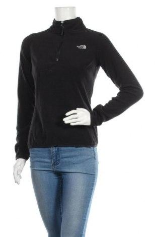 Γυναικεία μπλούζα fleece The North Face, Μέγεθος S, Χρώμα Μαύρο, Πολυεστέρας, Τιμή 32,48€