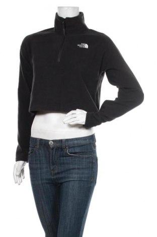 Дамска поларена блуза The North Face, Размер S, Цвят Черен, Полиестер, Цена 66,75лв.
