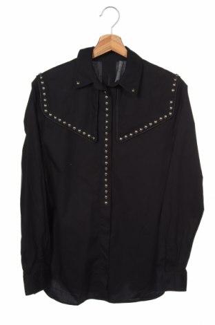 Dámská košile  Alberta Ferretti, Velikost XS, Barva Černá, 97% bavlna, 3% elastan, Cena  1340,00Kč