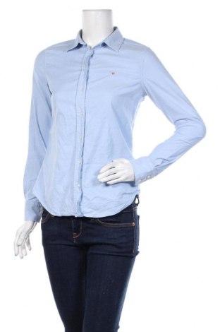 Γυναικείο πουκάμισο Gant, Μέγεθος S, Χρώμα Μπλέ, 97% βαμβάκι, 3% ελαστάνη, Τιμή 43,30€